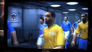 PES 2010 - Italia vs Brasil Primera parte