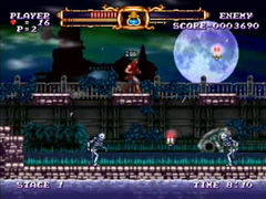 Castlevania the Adventure Rebirth - Jugabilidad