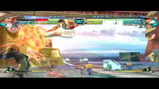 Tatsunoko vs. Capcom - Frank West vs. Ryu