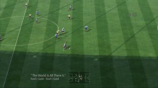 Copa Mundial FIFA 2010 - Control con dos botones