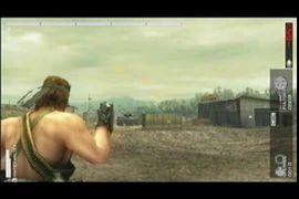 Metal Gear solid Peace Walker - Tanque