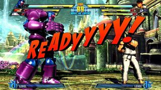 Marvel vs Capcom 3 - Combate 1 Centinela