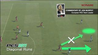 Pro Evolution Soccer 2012 - Diagonales