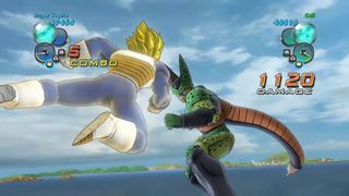 Dragon Ball Z Ultimate Tenkaichi - Vegeta vs Cell