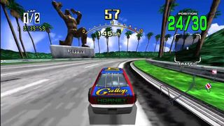 Daytona USA - Debut