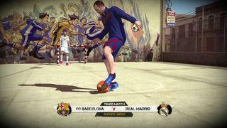 FIFA Street - Bar�a vs Madrid
