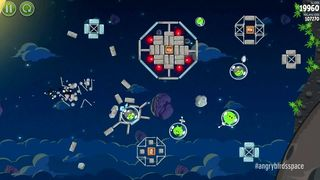 Angry Birds Space - Lanzamiento