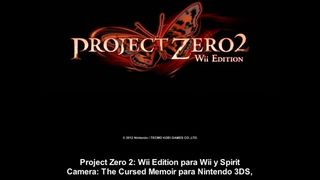 Project Zero 2 / Spirit Camera - Conexi�n