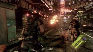 Resident Evil 6 - Sesi�n de juego Chris y Piers