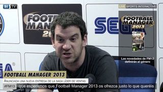 Football Manager 2013 - Rueda de prensa