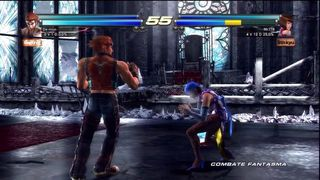 Tekken Tag Tournament 2 - Sesi�n de juego: Combates