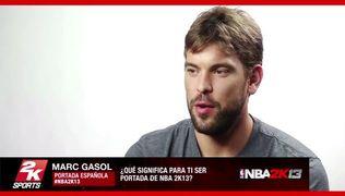 NBA 2K13 - Entrevista Marc Gasol