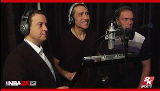NBA 2K13 - Entrevista con los locutores espa�oles