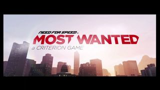 Need for Speed: Most Wanted - Bienvenida