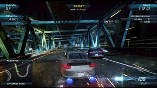 Need for Speed: Most Wanted - Prueba de sprint