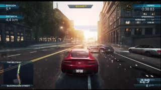 Need for Speed: Most Wanted - Prueba de sprint 2
