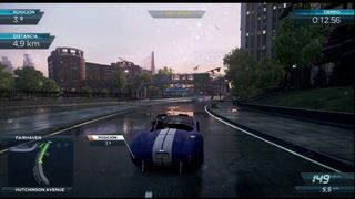 Need for Speed: Most Wanted - Ruedas pinchadas