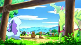 Pok�mon Mystery Dungeon 3DS - Animaci�n 2