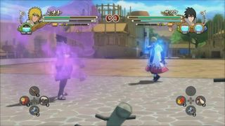 Naruto Shippuden: Ultimate Ninja Storm 3 - Fuera del ring