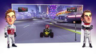 F1 Race Stars - Parodia