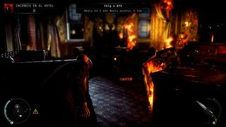 Hitman Absolution - Edificio en llamas