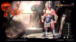 God of War: Ascension - Configurando a Zeus