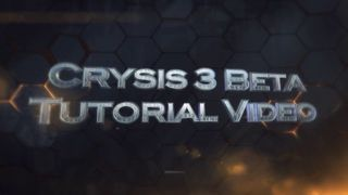 Crysis 3 - Tutorial beta