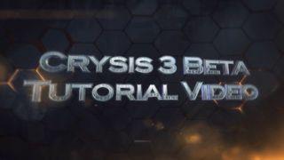 Crysis 3 - Tutorial beta