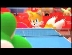 Mario y Sonic en los JJ.OO. - Ping-pong