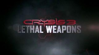Crysis 3 - Armas letales