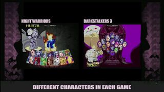 Darkstalkers Resurrection - Diferencias