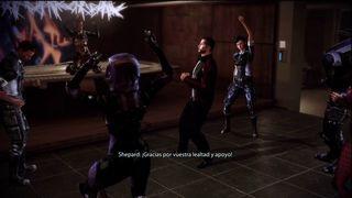 Mass Effect 3 Ciudadela - Bailando