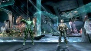 Injustice: Gods Among Us - Aquaman vs. Green Lantern