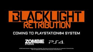 Blacklight Retribution - Presentaci�n