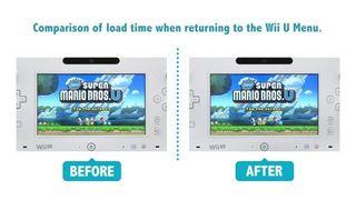 Wii U - Actualizaci�n de primavera