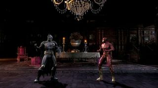 Injustice: Gods Among Us - Batman vs Flash