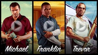 GTA V - Michael, Franklin y Trevor
