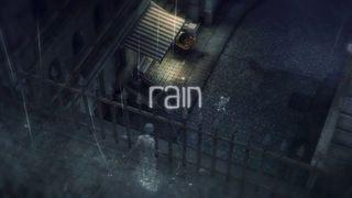 rain - Dos siluetas