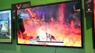 Crimson Dragon - Jugabilidad E3