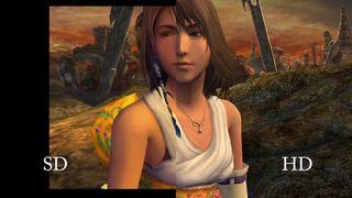 Final Fantasy X/X-2 HD Remaster - Comparativa