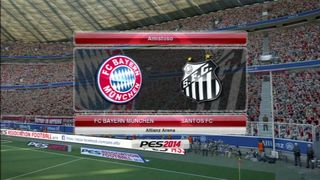 Pro Evolution Soccer 2014 - Bayern vs Santos
