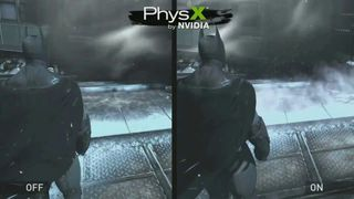 Batman: Arkham Origins - PhysX de Nvidia