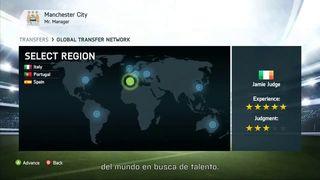 FIFA 14 - Red global de traspasos
