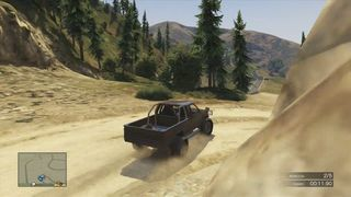 Grand Theft Auto V - Carrera 4x4