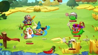 Angry Birds Epic - Jugabilidad