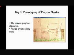 Crayon Physics Deluxe - Prototipo