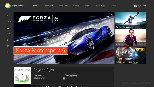 Xbox One - Nueva interfaz Xbox One