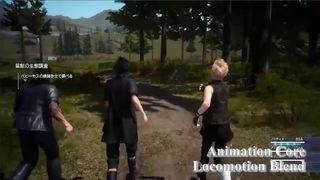 Final Fantasy XV - Animación