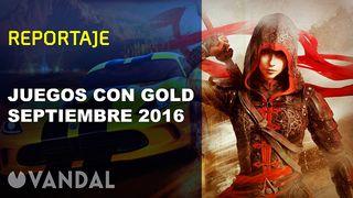 Juegos con Gold - Septiembre 2016